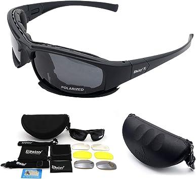 Tactical Daisy X7 Glasses Military Goggles Army Sunglasses 4 Polarized Lens UK