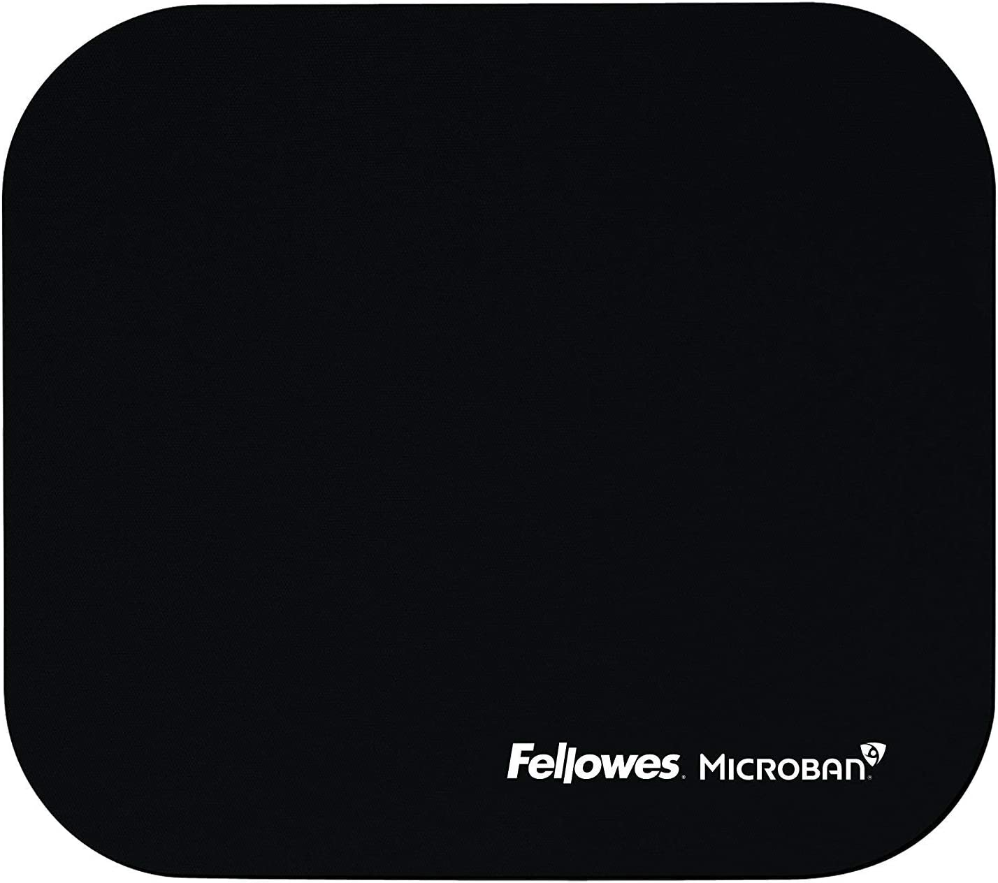 Mouse Pad with Microban Pack of 18 Black 5933901