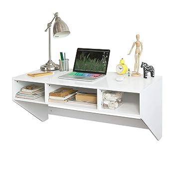 Kleiner Wei Er Schreibtisch , Sobuy Fwt14 W Wandtisch In Weiß Wandschrank Schreibtisch