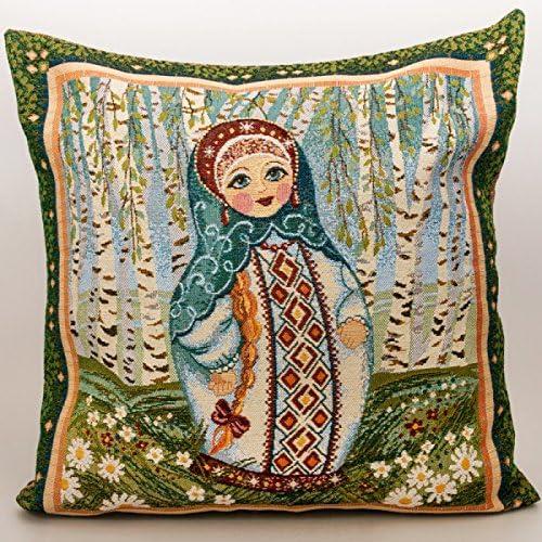 Nesting Doll matryoshka Decorative Tapestry Throw Pillow