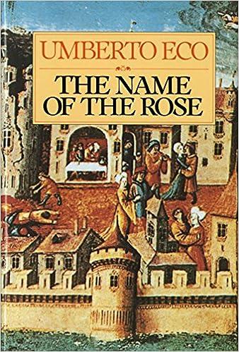 The Name of the Rose: Umberto Eco, William Weaver: 9780151446476:  Amazon.com: Books