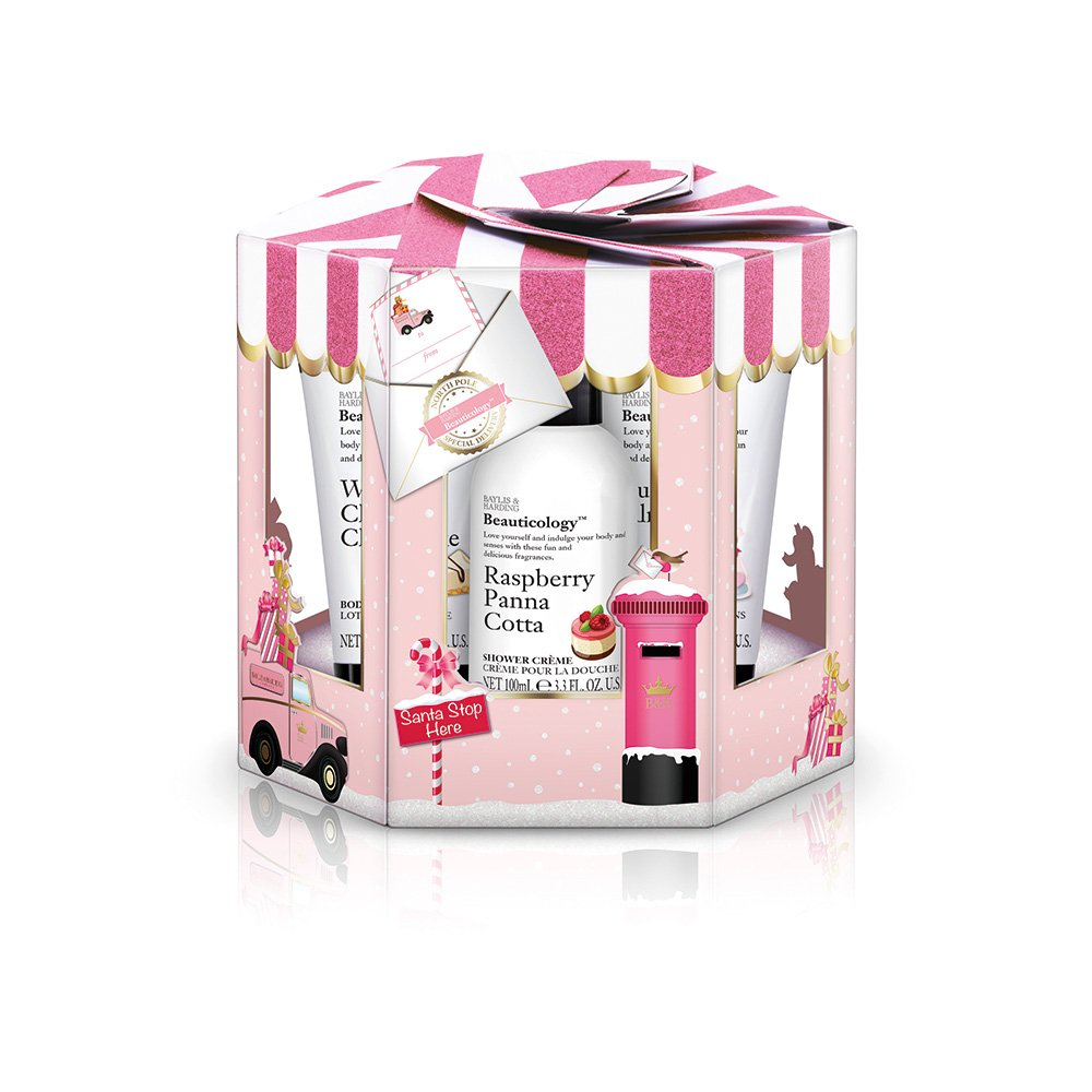 Baylis & Harding Beauticology Special Delivery Pink Luxury Bathtime Treats Gift Set BCPK185PHEX