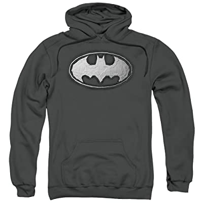 Batman DC Comics Duct Tape Logo Adult Pull-Over Hoodie