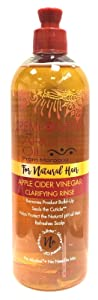 Creme Of Nature Argan Oil Apple Cider Vinegar Rinse 15.5 Ounce (460ml) (2 Pack)