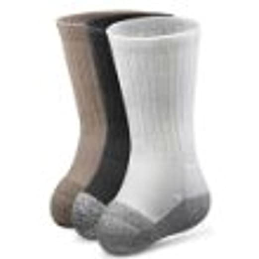 ee0b01c979 Image Unavailable. Image not available for. Color: Dr. Comfort Transmet Crew  Socks ...