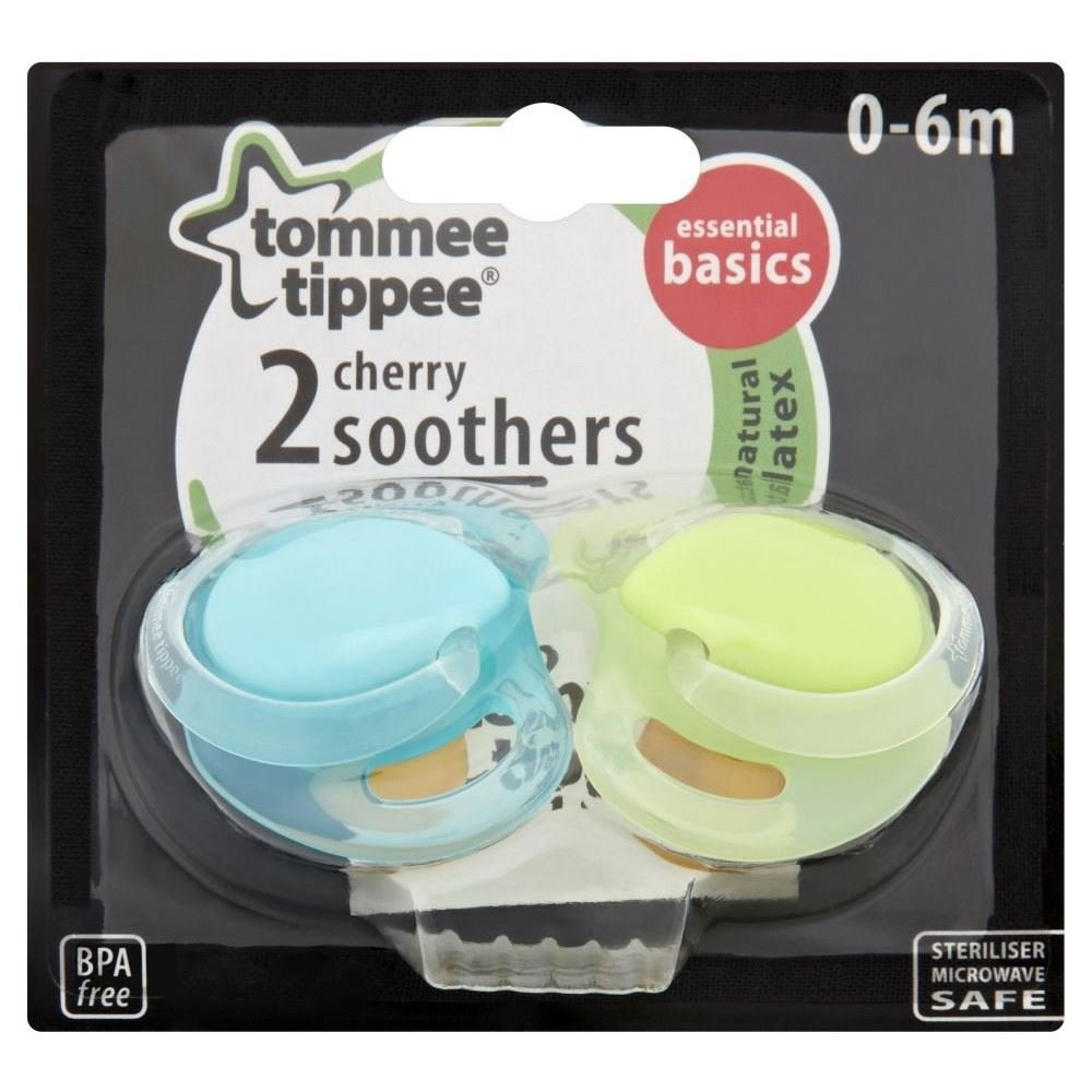 Tommee Tippee Chupetes Cereza 0-6Mth + (2): Amazon.es ...