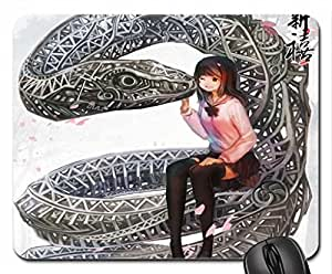 Iron Snake Mouse Pad, Mousepad (10.2 x 8.3 x 0.12 inches)
