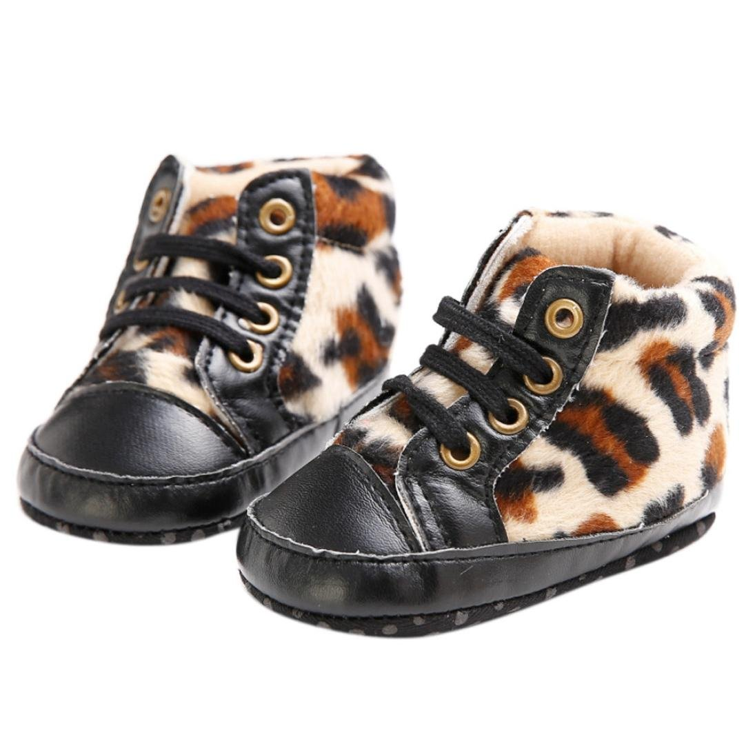 Amiley Baby Toddler Infant Snow Boots Shoes High Top Sole Prewalker Sneaker