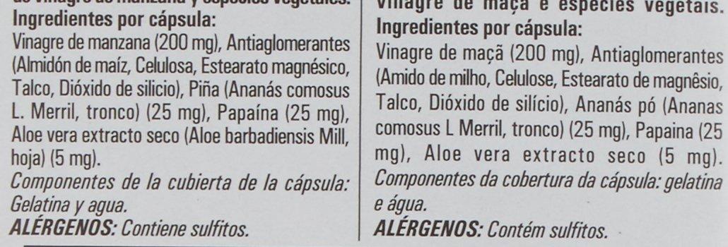 Naturtierra Vinagre de Manzana, Vientre Plano - 90 Cpsulas - [Pack de 3]: Amazon.es: Alimentación y bebidas