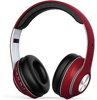 Auriculares Inalámbrico Diadema Over-ear, Cascos Bluetooth 4.2 Pleagable con Micrófono Manos Libres,