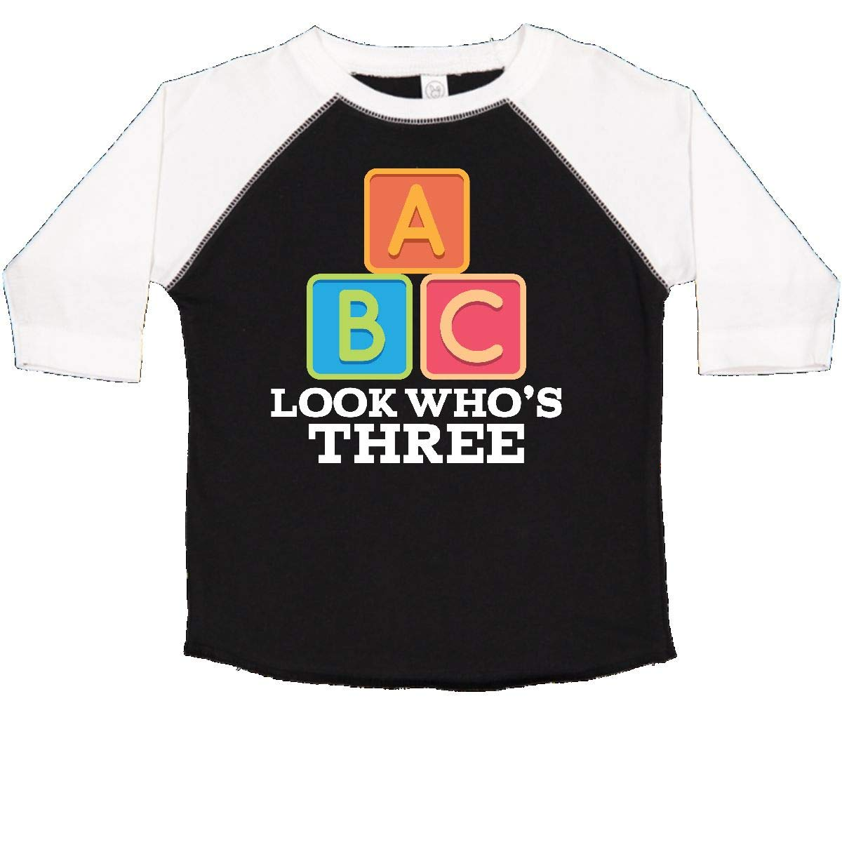 inktastic 3rd Birthday 3 Year Old Alphabet Toddler T-Shirt