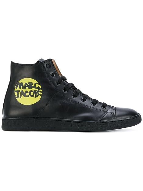 Hi Marc Jacobs Top Nero Sneakers S87ws0256sy0709900 Uomo Pelle dtshQrC