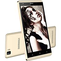 Moviles Libres 4G, Smartphone Libre 5,0 Pulgadas Android 7.0 Quad Core 1 GB RAM y 16 GB ROM (Escalable 32 GB) Smartphones 2800mAh Batería Cámara 5MP + 2MP Dual SIM WiFi BT (Oro)