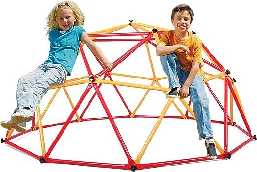 JAXPETY - Juego de Columpio para niños con Forma de cúpula para Escalar en el Patio o el Gimnasio