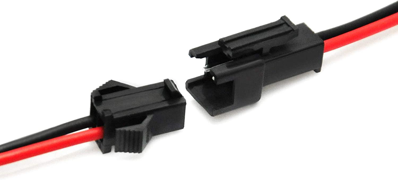 Conectores JST SM 2-Pins 2P Hembra y Male Plug [ 10 pares]