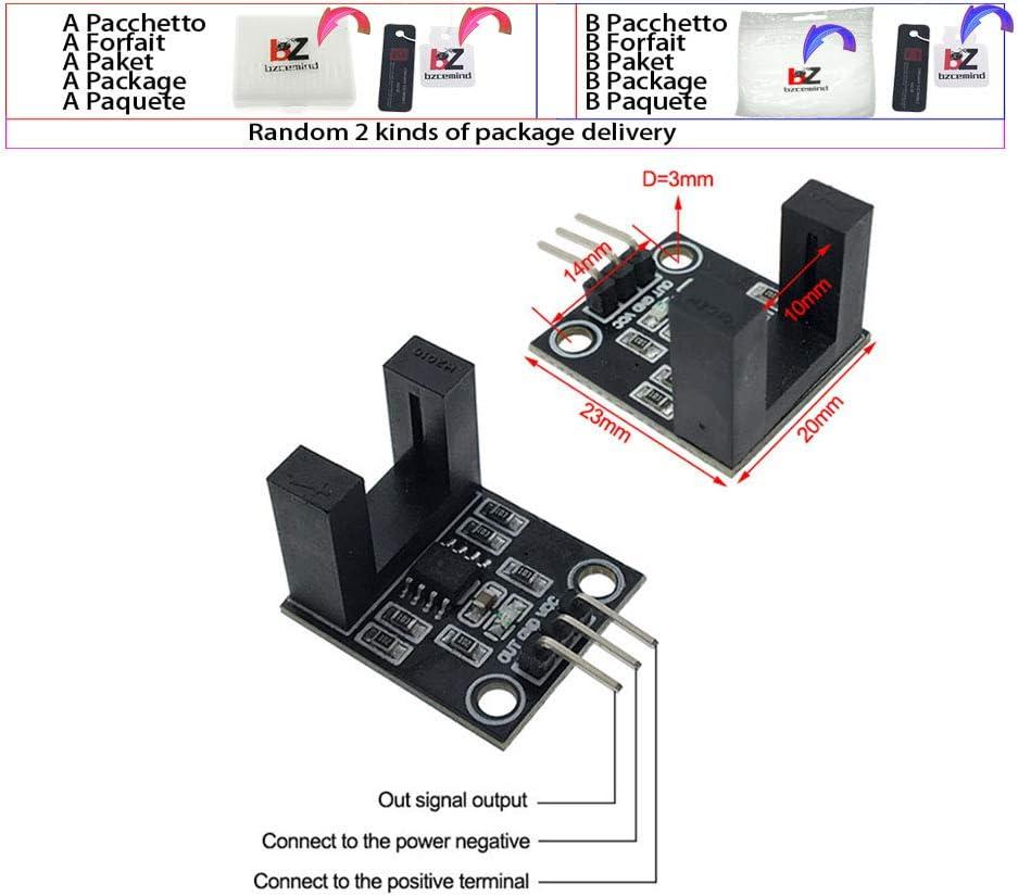 Módulo de Sensor de Velocidad Tacho Sensor 3,3 V-5 V Tipo Ranura ...