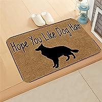partm Rectangle Non-Slip Door Mat Bedroom Kitchen Flannel Print Floor Mat Doormats