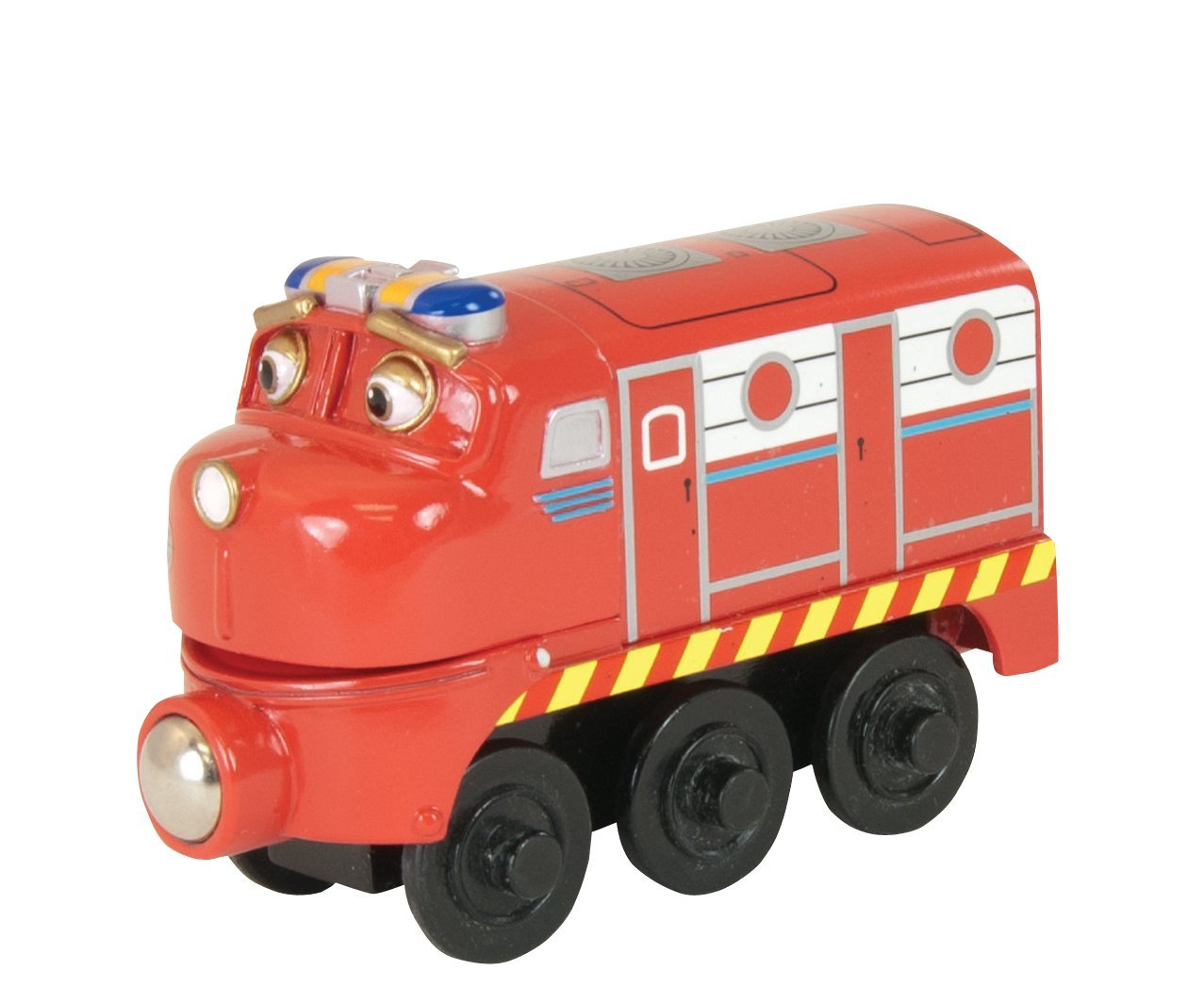 Amazon.com: Chuggington Wooden Railway Chug Patroller Wilson: Toys ...