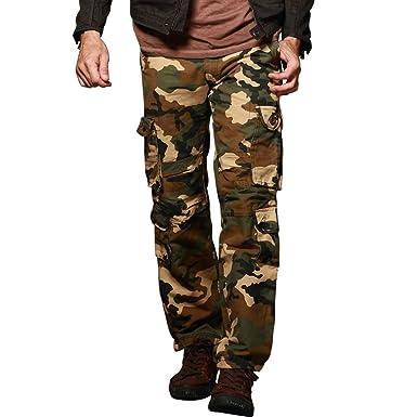 9c7d8c57815 Match Men s Military Cargo Pants Plus Size Multi-pockets Utility Cargos   3357 (Label