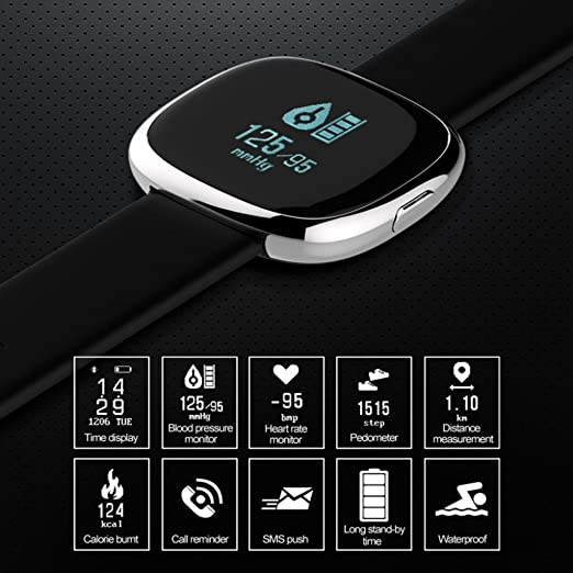 Amazon.com : LtrottedJ Smart Watch, Smart Watch Sports ...
