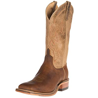 Anderson Bean Mens Ride Ready Briar 13in Bone Goat Top Cowboy Boots