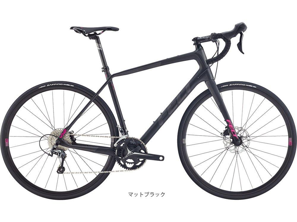 FELT(フェルト) 2017 VR6 (Tiagra 2x10s) ロードバイク マットブラック B01LZCFXSN 540