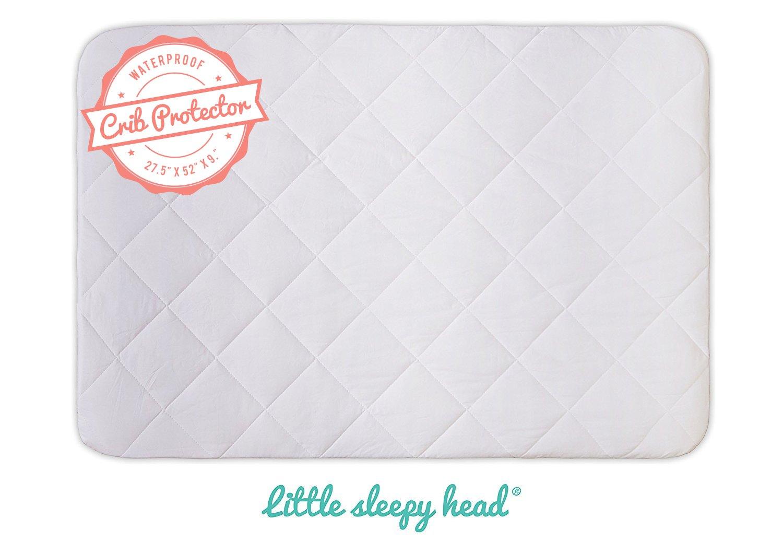 Soft, Quiet, Waterproof Crib & Toddler Bed Mattress Protector - (52'' x 27.5'')