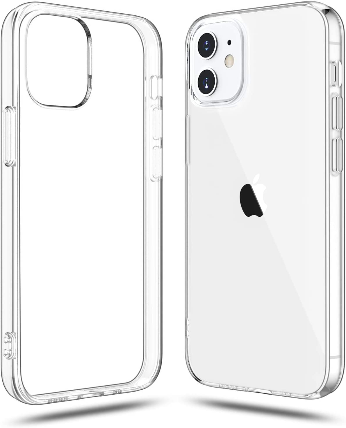 Shamo's Clear Case for iPhone 12 Mini Case Clear (2020), Shockproof Bumper Cover Soft TPU Silicone Transparent Anti-Scratch, HD Crystal Clear