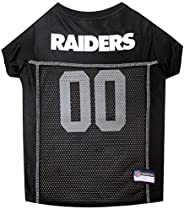 NFL Oakland Raiders Dog Jersey, Medium