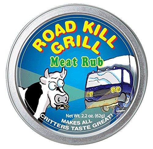 Dean Jacob's Road Kill Grill Meat Rub ~ 2.4 oz. Tin