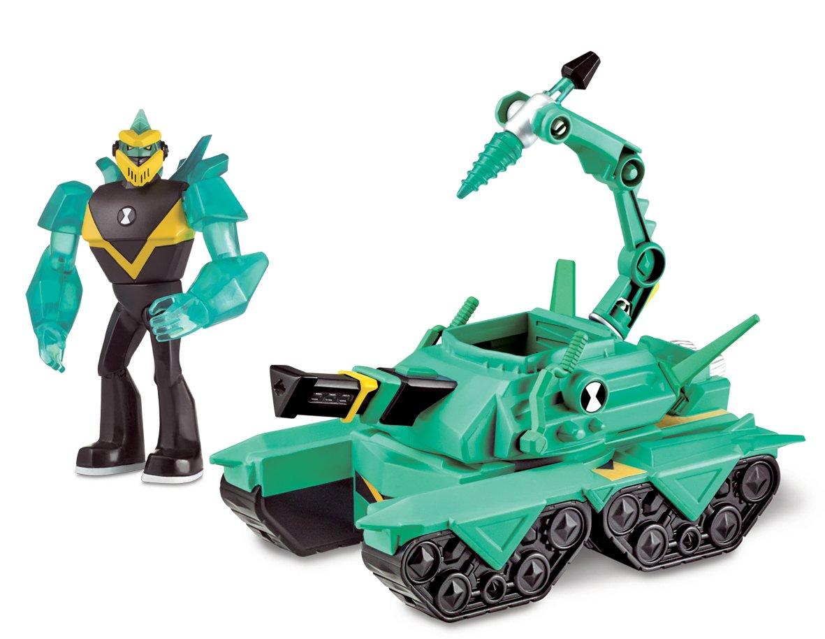 Ben 10 Alien Vehicle Diamond Head Power Tank