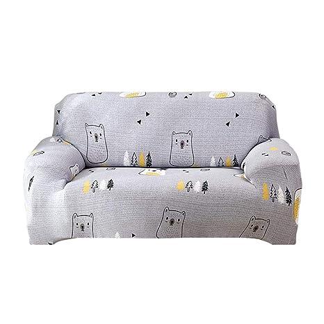 GLOBEAGLE Funda para sofá con diseño de Oso Estampado ...