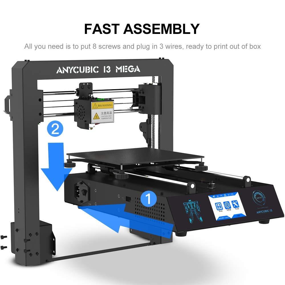 Amazon.com: Impresora 3D ANYCUBIC MEGA I3 con cama de calor ...
