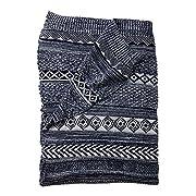Ethan Allen | Disney Sweater Stitch Knit Stroller Blanket, Midnight Blue