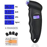 URAQT Manómetro Digital para Neumáticos, Manómetro Electrónico