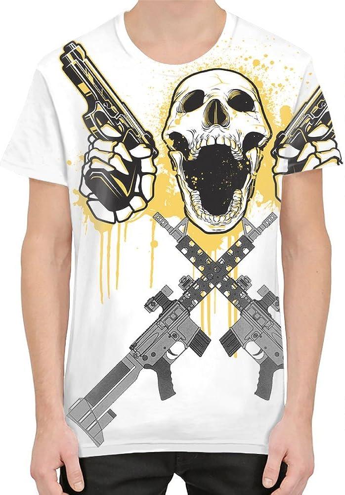 Bang Bangin Deadly Guns Camiseta Sublimada XX-Large: Amazon ...