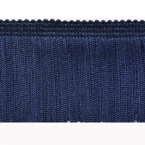 Navy Fringe - Expo International 20-Yard Chainette Fringe Trim, 2-Inch, Navy Blue