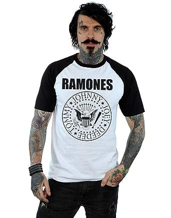33fbfc23e45b7 Ramones Hombre Presidential Seal Camiseta del Béisbol  Amazon.es  Ropa y  accesorios