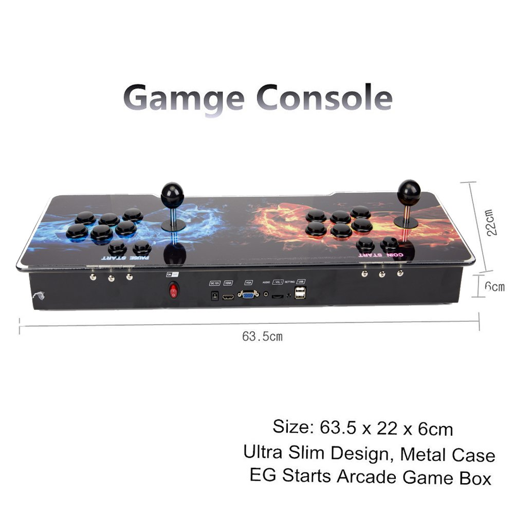 1299 in 1 Video Games LED Double Stick Arcade Console Pandora's Box 5s Classic by STLY (Image #7)