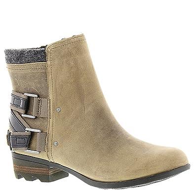 17ee78df34446 Sorel Women s Lolla Booties Wet Sand   Black 9 B(M) US  Buy Online at Low  Prices in India - Amazon.in