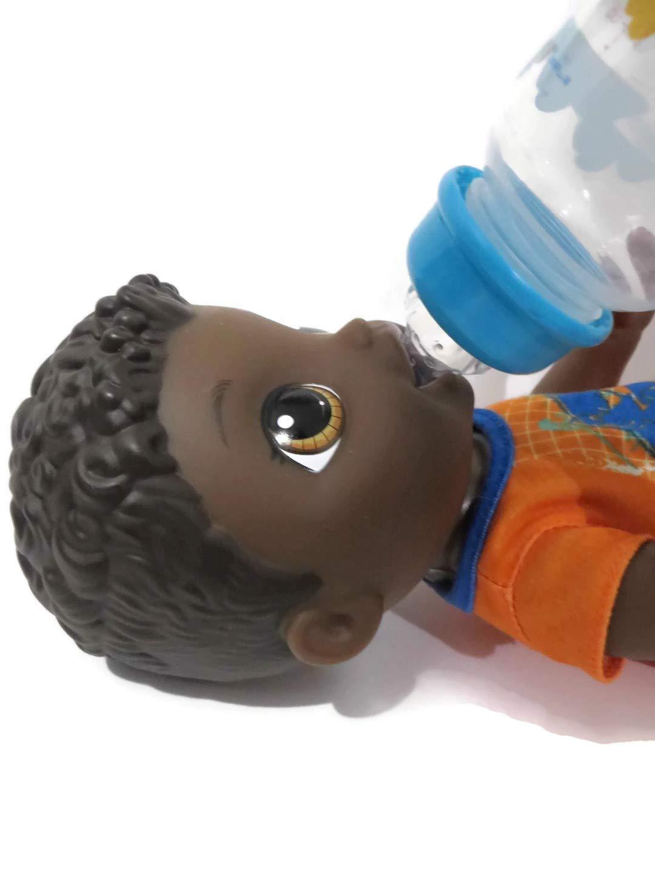 Amazon.com: Personalizado 5oz botella DIY botella + chupete ...