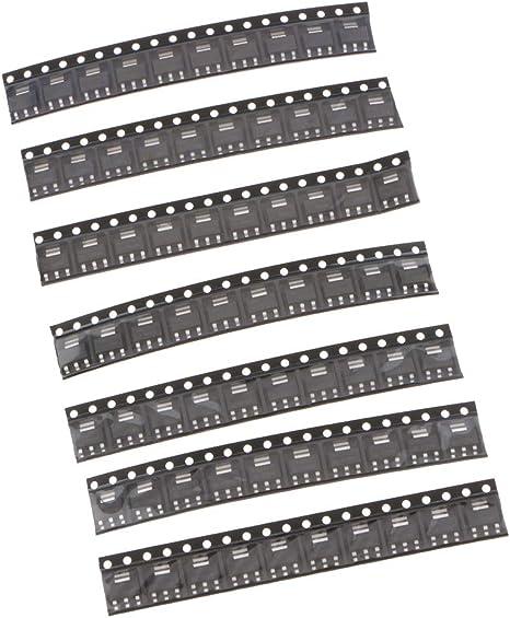 70 piece ams1117 Kits Voltage Regulator 1.2 v//1.5 v//1.8 v//2.5 v//3.3 V//5.0