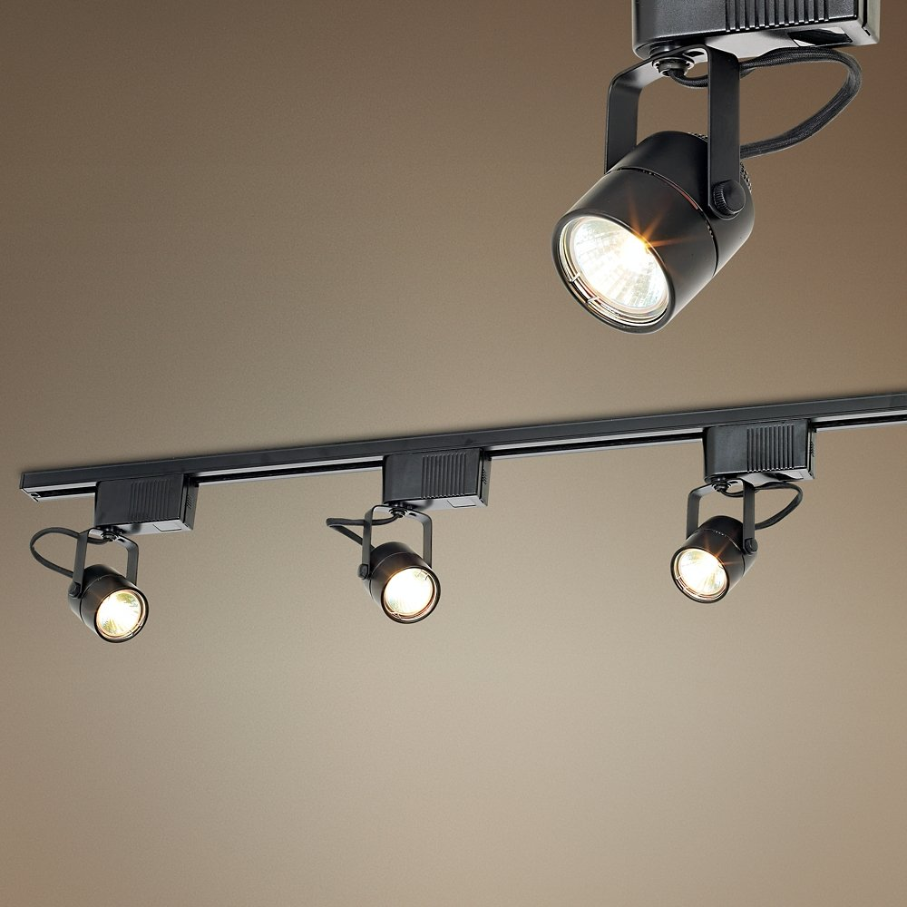 office track lighting. Pro Track Black 150 Watt 3-Light Low Voltage Kit - Lighting Kits Amazon.com Office