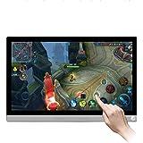 Monitor portátil de 15,6 polegadas HD 1920 x 1080 IPS tela sensível ao toque 178° pontos grandes angular capacitivo monitor H