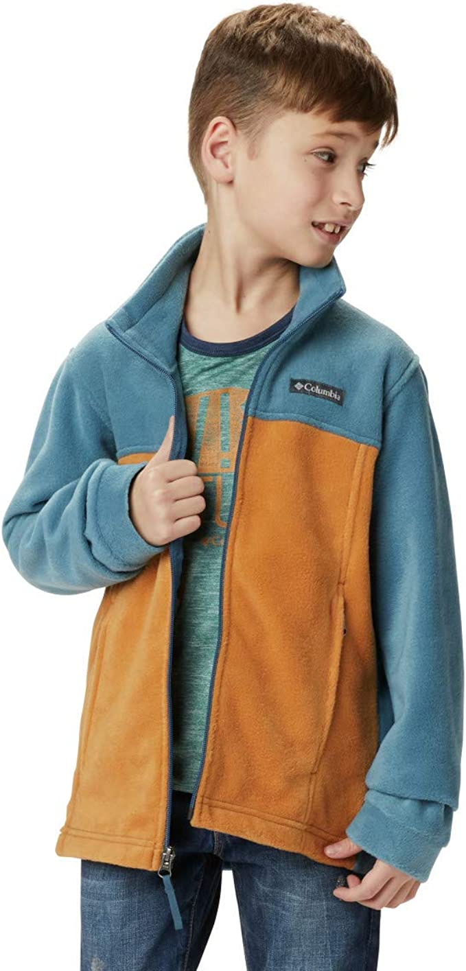 Columbia Boys Steens Mt Ii Jacket Soft Fleece with Classic Fit