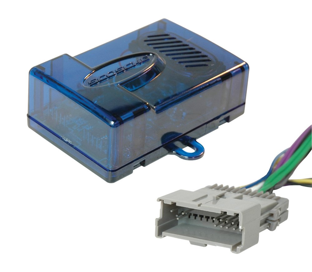 Amazon.com: Scosche GM09SR Radio Replacement Interface with Door Chime  Feature for 2000-Up GM: Car Electronics