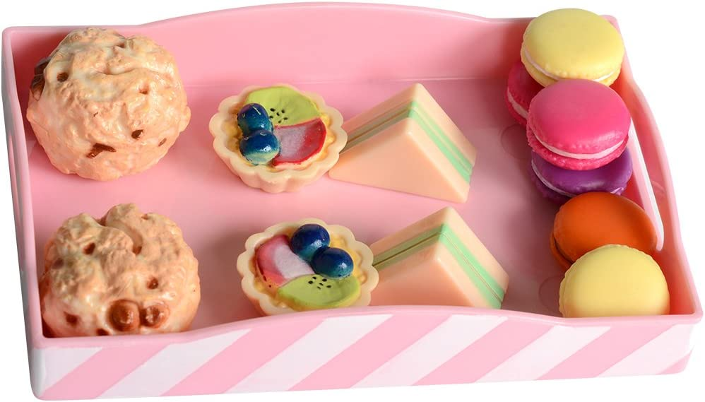 """18/"""" doll cookie pastry french macarons food fit American Girl Our Generation"""