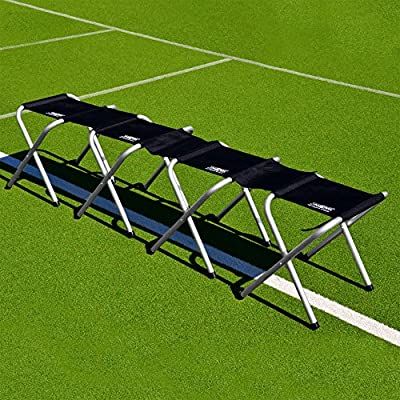 Soccer Team Bench (Highest Quality) 4/8/12 SeatsOnly Aluminum Bench Available [NET WORLD SPORTS]