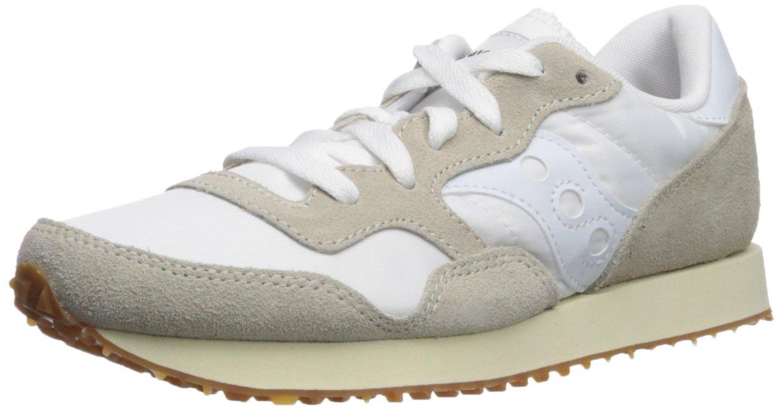 Saucony Originals Women's DXN Trainer Vintage Running Shoe B071ZZMNXH 6.5 B(M) US|White/Gum