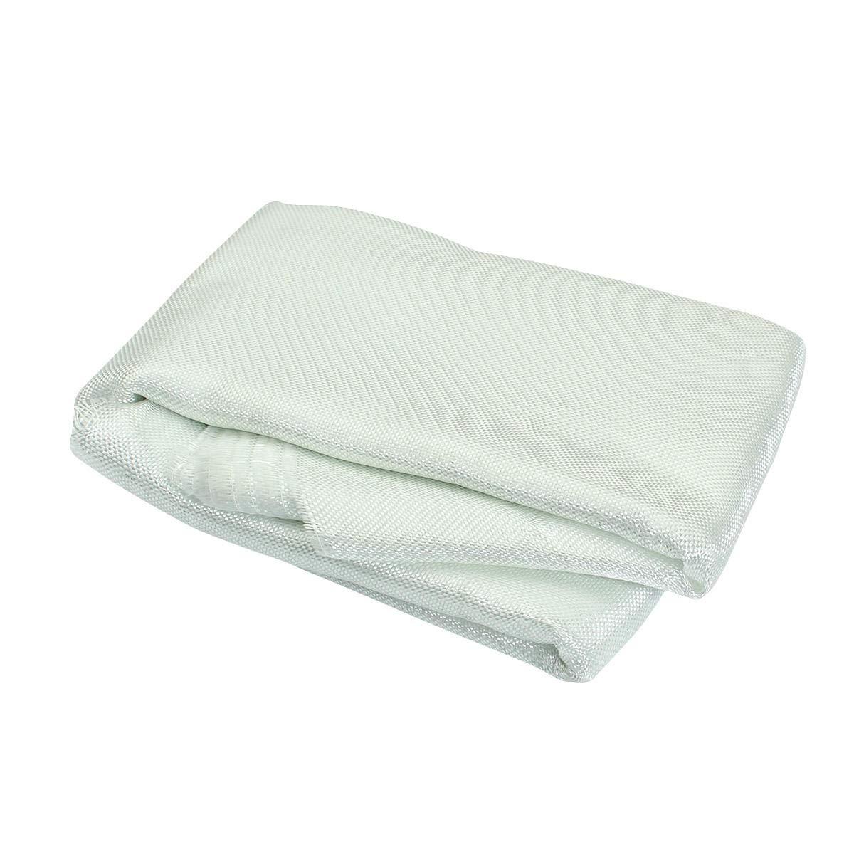 Stock_Home, Raw Materials, 10x1m Fiber Glass Cloth Fabric Plain Woven Roving Cloth for Model Airplane